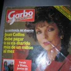 Coleccionismo de Revista Garbo: REVISTA GARBO Nº 767 DEL AÑO 1987. Lote 24639374