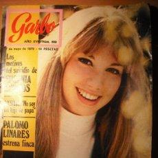 Coleccionismo de Revista Garbo: REVISTA GARBO 1970 KARINA - CLAUDIA CARDINALE - BASILIO - RAPHAEL - MIKE KENNEDY. Lote 26797879