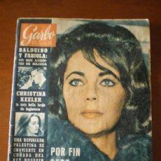 Coleccionismo de Revista Garbo: GARBO Nº 567 (25/01/64) BALDUINO FABIOLA BELGICA CHRISTINE KEELER LIZ TAYLOR . Lote 25511272