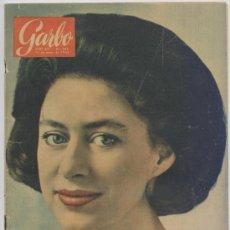 Coleccionismo de Revista Garbo: GARBO Nº 583 - AÑO 1964 - BODA SARA MONTIEL, BRIGITTE BARDOT,.... Lote 182174378