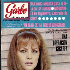 Coleccionismo de Revista Garbo: REVISTA GARBO Nº 814 DEL 12/10/1968. Lote 28331453
