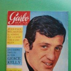 Coleccionismo de Revista Garbo: GARBO Nº 636 15 DE MAYO DE 1965 - JEAN PAUL BELMONDO - GRACE KELLY. Lote 29052107
