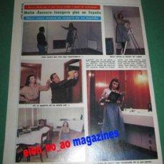 Coleccionismo de Revista Garbo: ARTICULO DE LA REVISTA GARBO ~ BACCARA ~ 2 PAG 9 FOTOS. Lote 29267563