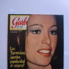 Coleccionismo de Revista Garbo: GARBO Nº 882 28 DE ENERO 1970 MASSIEL - JIMI HENDRIX - VIRGEN RESCATADA VILLALMONDAR BURGO. Lote 29585817