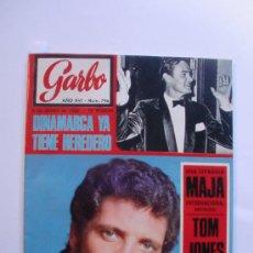 Coleccionismo de Revista Garbo: GARBO Nº 796 8 DE JUNIO 1968 TOM JONES - LAS PRESENTADORAS DE TELEVISION - MANOLO GOMEZ BUR. Lote 29602329