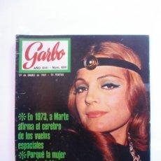 Coleccionismo de Revista Garbo: GARBO Nº 830 29 DE ENERO 1969 CARMEN SEVILLA - CYNTHIA POWELL -. Lote 29612452