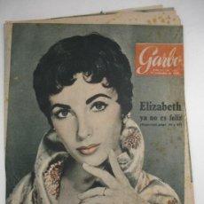 Coleccionismo de Revista Garbo: LOTE 3 REVISTAS GARBO ELIZABETH TAYLOR. Lote 29678224