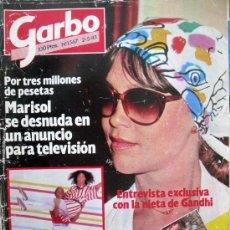 Coleccionismo de Revista Garbo: GARBO Nº1567 2-5-83- CARLOS Y DIANA VISITAN AUSTRALIA- MARISOL SE DESNUDA PARA TV. Lote 29754590