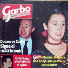 Coleccionismo de Revista Garbo: GARBO Nº1559 7-3-83 DUQUES DE CADIZ: SIGUE EL MATRIMONIOLA REINA SOFIA CON NIÑOS DE TODO EL MUNDO. Lote 29755234