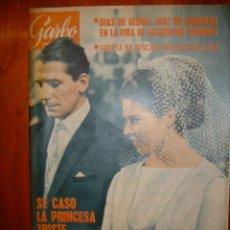 Coleccionismo de Revista Garbo: GARBO Nº 601 1964 REPORTAJE DE DALI Y SU MUJER EN NEW YORK SE TRAEN AL DOBLE DE DALI PARA EL FILM. Lote 30015878