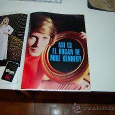 Coleccionismo de Revista Garbo: MIKE KENNEDY ( LOS BRAVOS ): REPORTAJE GRÁFICO DE 1969. Lote 30139349