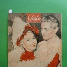 Coleccionismo de Revista Garbo: GARBO Nº 51 6 MARZO 1954 EL PARAISO DE LOS BUSCADORES DE ESMERALDAS ES UN INFIERNO - ZSA ZSA GABOR. Lote 30579223