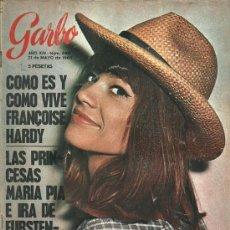 Coleccionismo de Revista Garbo: REVISTA GARBO Nº 689, 21 DE MAYO AÑO 1966, FRANCOISE HARDY.... Lote 31241925