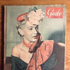 Coleccionismo de Revista Garbo: REVISTA GARBO AÑO 1- Nº 38 - DE 5 DE DICIEMBRE DE 1953. Lote 31386060