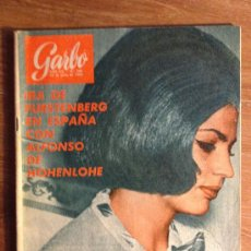 """Coleccionismo de Revista Garbo: REVISTA GARBO AÑO XII- Nº 588 - DE 20 DE JUNIO DE 1964 """"IRA DE FURSTENBERG"""". Lote 31386120"""