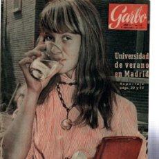 Coleccionismo de Revista Garbo: GARBO, AÑO II, Nº 77, 1954, REPORTAJES Y ACTUALIDAD, CUENTOS, MODAS, SOCIEDAD, MEDICINA. Lote 31804341