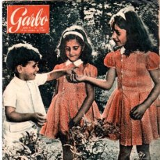 Coleccionismo de Revista Garbo: GARBO, AÑO V, Nº 240, 1957, LOS NIETOS DEL GENERALÍSIMO, SHA DE PERSIA, DUQUE DE WINDSOR, CHESSMAN. Lote 31804402