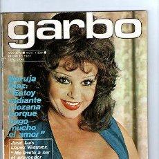 Coleccionismo de Revista Garbo: GARBO Nº 1239-MARUJA DIAZ-J.L. LOPEZ VAZQUEZ-EL CORDOBES-ROBERT DE NIRO-AÑO1977 *. Lote 31953715