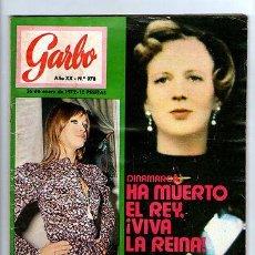 Coleccionismo de Revista Garbo: GARBO Nº 978-LOS BEATLES-MARISOL-CAMILO SESTO-VICTOR MANUEL&ANA BELEN-POSTER-1972 *. Lote 31954225