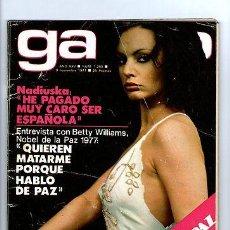 Coleccionismo de Revista Garbo: GARBO Nº 1280-CANTUDO-ANGELA MOLINA-KIRK DOUGLAS-NADIUSKA-RAPHAEL-1977 *. Lote 31954376