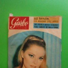 Coleccionismo de Revista Garbo: GARBO Nº 641 19-06-1965 VIRNA LISI Y GINA LOLLOBRIGIDA - JOHNNY Y SYLVIE - LIZ TAYLOR - MARC CHAGALL. Lote 32165601