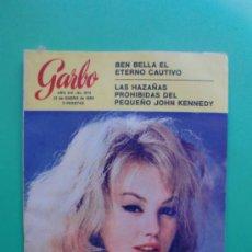 Coleccionismo de Revista Garbo: GARBO Nº 672 22-01-1966 MYLENE DEMONGEOT - DIVORCIO DE 400 MILLONES - JOHN JOHN KENNEDY. Lote 32201641