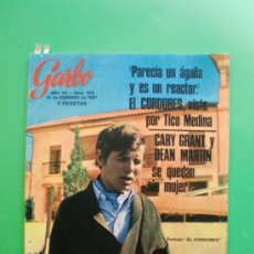 Coleccionismo de Revista Garbo: GARBO Nº 728 18-02-1967 EL CORDOBES - ANTONELLA LUALDI - RALLYE BARCELONA SITGES. Lote 32203275