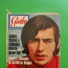 Coleccionismo de Revista Garbo: GARBO Nº 849 11/06/1969 GENMA CUERVO - JOAN MANUEL SERRAT - JAUME ARNELLA. Lote 32215466