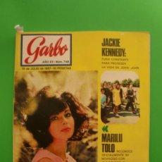 Coleccionismo de Revista Garbo: GARBO Nº 749 15/07/1967 MARILU TOLO - FRAÇOISE DORLEAC JAYNE MANSFIELD - RICHARD BURTON. Lote 32223879