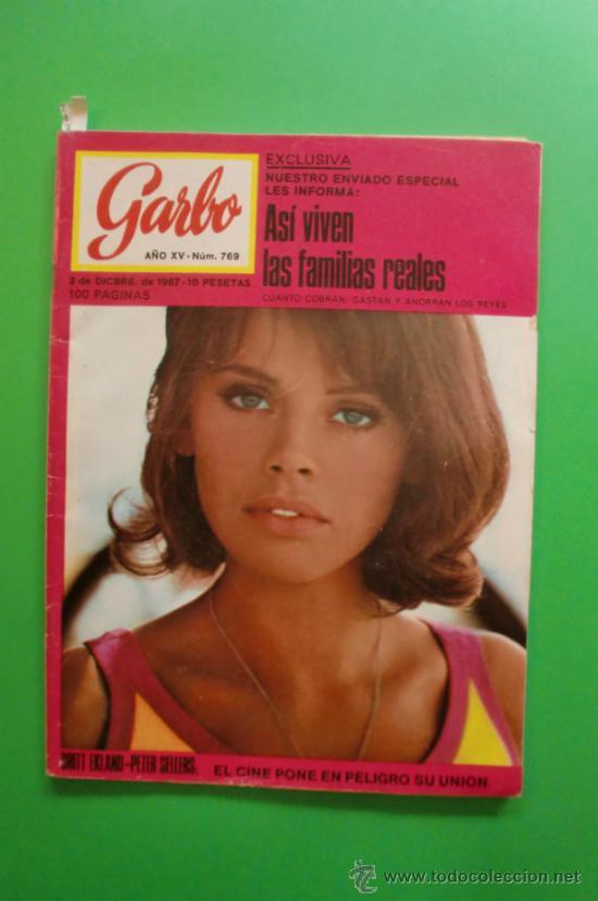 GARBO Nº 769 02-12-1967 PETER SELLERS BRITT EKLAND - JOHNNY HALLYDAY -ROGER SMITH- LOS VENGADORES 2 (Coleccionismo - Revistas y Periódicos Modernos (a partir de 1.940) - Revista Garbo)
