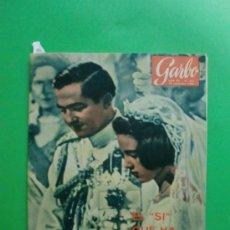 Coleccionismo de Revista Garbo: GARBO Nº 602 26/09/1964 BODA DE CONSTANTINO Y ANA MARIA - LA VIRGEN DE LA PALOMA AL CINE - SINATRA . Lote 32373812