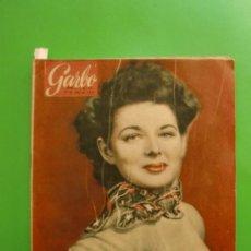 Coleccionismo de Revista Garbo: GARBO Nº 70 17/07/1954 JUDITH BRAUN - CALABRIA PESCA DEL PEZ ESPADA. Lote 32480142