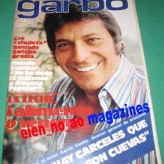 Coleccionismo de Revista Garbo: GARBO 1304/1978 ~ SANCHO GRACIA~MANOLO ESCOBAR~LOS AMAYA~ALAIN DELON~BEATRIZ ESCUDERO~MARCIA BELL. Lote 33508223