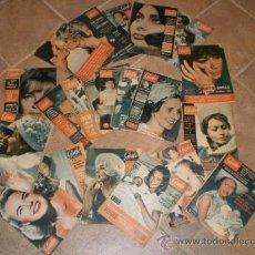Coleccionismo de Revista Garbo: LOTE DE 21 REVISTAS GARBO AÑOS 62-63-64. Lote 33658747