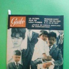 Coleccionismo de Revista Garbo: GARBO Nº 557 16/11/1963 FRANÇOISE HARDY - LAUREN BACALL - LOLA FLORES - CLAN SINATRA - GINA - LIZ . Lote 33802235