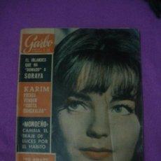 Coleccionismo de Revista Garbo: REVISTA GARBO, Nº 600. AÑO 1964.CADAQUES,LA SARDANA,SAN FELIU ..,LA CAPILLA DE LOS ESQUELETOS.. Lote 34864815