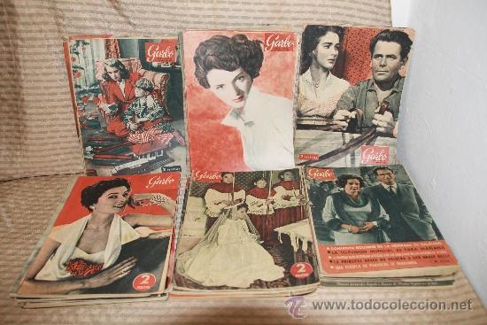 2272- GARBO REVISTA SEMANAL ESPAÑOLA DE ACTUALIDAD. 41 NUMEROS. 1953/ 1963. (Coleccionismo - Revistas y Periódicos Modernos (a partir de 1.940) - Revista Garbo)