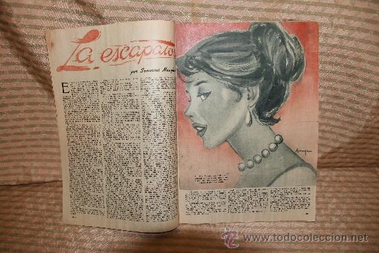 Coleccionismo de Revista Garbo: 2272- GARBO REVISTA SEMANAL ESPAÑOLA DE ACTUALIDAD. 41 NUMEROS. 1953/ 1963. - Foto 4 - 35281113