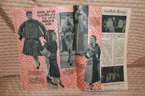 Coleccionismo de Revista Garbo: 2272- GARBO REVISTA SEMANAL ESPAÑOLA DE ACTUALIDAD. 41 NUMEROS. 1953/ 1963. - Foto 6 - 35281113