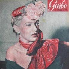 Coleccionismo de Revista Garbo: MODELO EN LONDRES 1953 REVISTA GARBO CHARLES CHAPLIN Nº 38. Lote 35536161