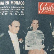 Coleccionismo de Revista Garbo: GRACE KELLY 1956 REVISTA GARBO AVA GARDNER Nº 163. Lote 36466870