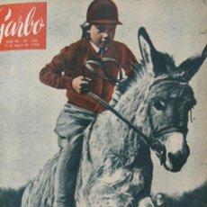 Coleccionismo de Revista Garbo: CAROLYN THOMAS 1956 REVISTA GARBO GRACE KELLY Nº 166. Lote 35571000