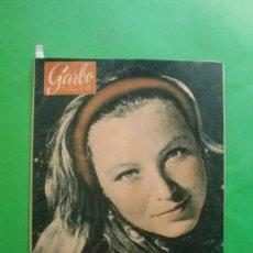 Coleccionismo de Revista Garbo: GARBO Nº 366 19/03/1960 PORTADA MARINA VLADY - RITA HAYWORTH - LAS CALÇOTADAS DE VALLS - . Lote 35728079