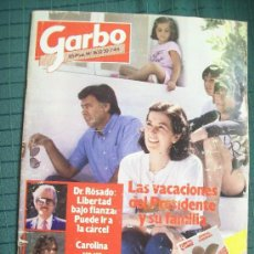 Coleccionismo de Revista Garbo: REVISTA GARBO 1632 30-7- 1984. FELIPE GONZÁLEZ CAROLINA DE MÓNACO GUNILLA ROCÍO DÚRCAL MICOLOR .... Lote 37257307