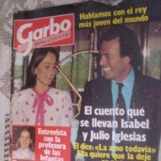 Coleccionismo de Revista Garbo: REVISTA GARBO AÑO 1983 Nº1577,CARMEN SARMIENTO,JULIO IGLESIAS,CAROLINA KENNEDY,JOHN LENNON. Lote 37669398