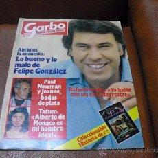 Coleccionismo de Revista Garbo: REV. GARBO Nº1.554. FELIPE GONZALEZ--AMPLIO RPTJE.PAMELA SUE MARTIN,MIKEL IÑAKI LIBERADO,JULIAN LENN. Lote 38042165