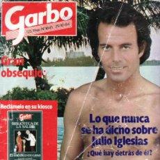 Coleccionismo de Revista Garbo: GARBO OCTUBRE 1984 Nº 1645. JULIO IGLESIAS EN PORTADA. Lote 38433049