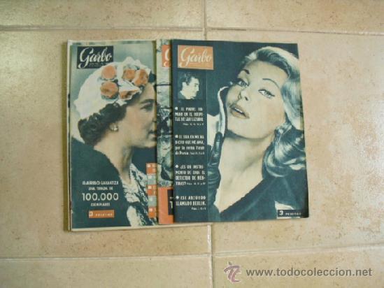 4 REVISTAS GARBO 1960, Nº 361-362-363-376, (Coleccionismo - Revistas y Periódicos Modernos (a partir de 1.940) - Revista Garbo)