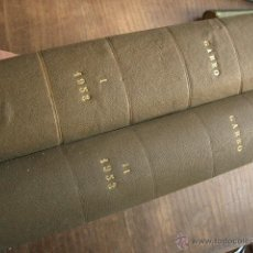 Coleccionismo de Revista Garbo: DOS TOMOS DE LA REVISTA GARBO DE 1953 Y 1958. Lote 40816711