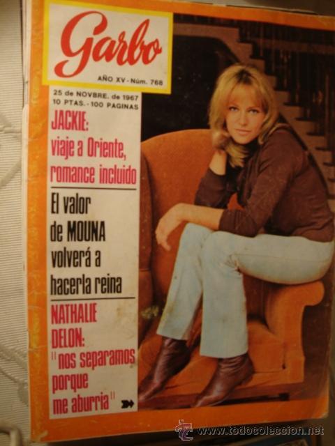 REVISTA GARBO Nº AÑO EN PORTADA: LOT80. (Coleccionismo - Revistas y Periódicos Modernos (a partir de 1.940) - Revista Garbo)